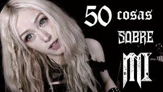 💀 50 COSAS SOBRE MÍ 💀 - Grecia Villar 🍂