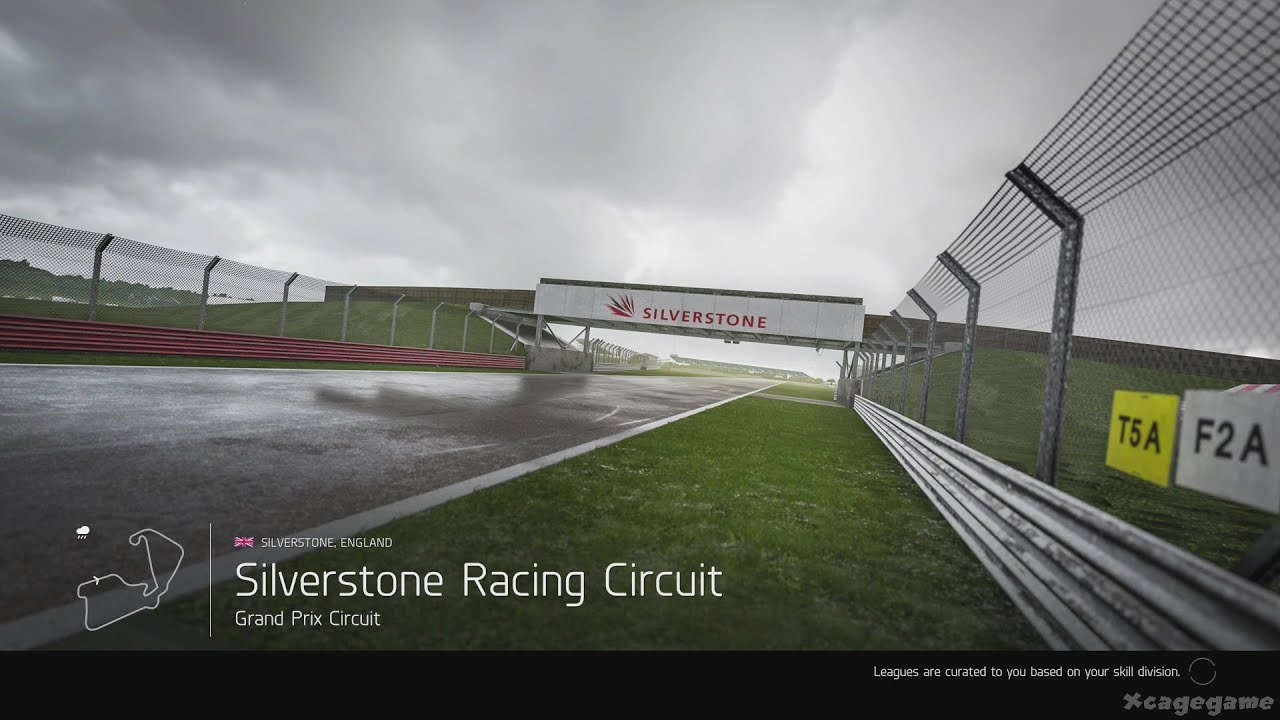 Forza Motorsport 6 - Silverstone Rain Gameplay - 60 FPS [ HD ] - YouTube