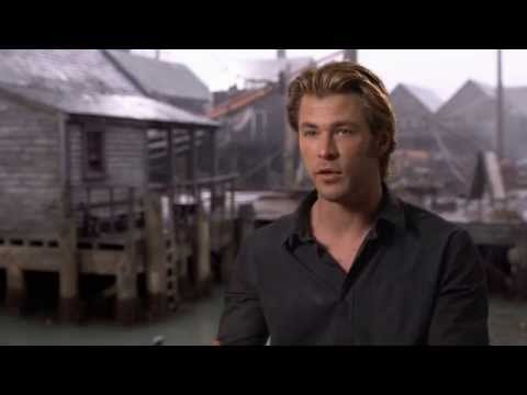 In The Heart Of The Sea On Set Interview - Chris Hemsworth
