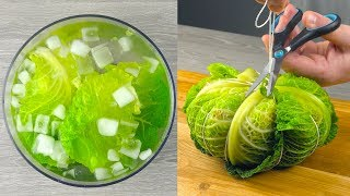 Use This Trick To Turn Your Cabbage Into A Pumpkin