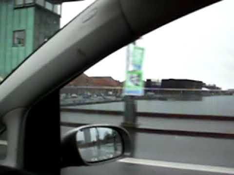 Towards Copenhagen city center, Denmark by taxi