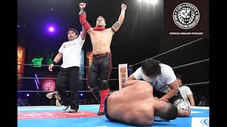 AUDIO ONLY: NJPW Official English Podcast Episode 4 with Robbie Eagles thumbnail