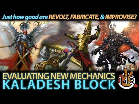 Evaluating New Mechanics - Kaladesh | The Command Zone #143 | Magic: the Gathering Commander Podcast