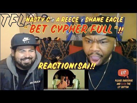 Nasty C, A Reece & Shane Eagle rep Ivyson | Hip Hop Awards 2018 Cypher | (THATFIRE LA) Reaction