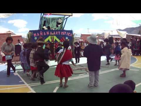 Inauguracion del nuevo colegio de vitichi potosi bolivia Part5