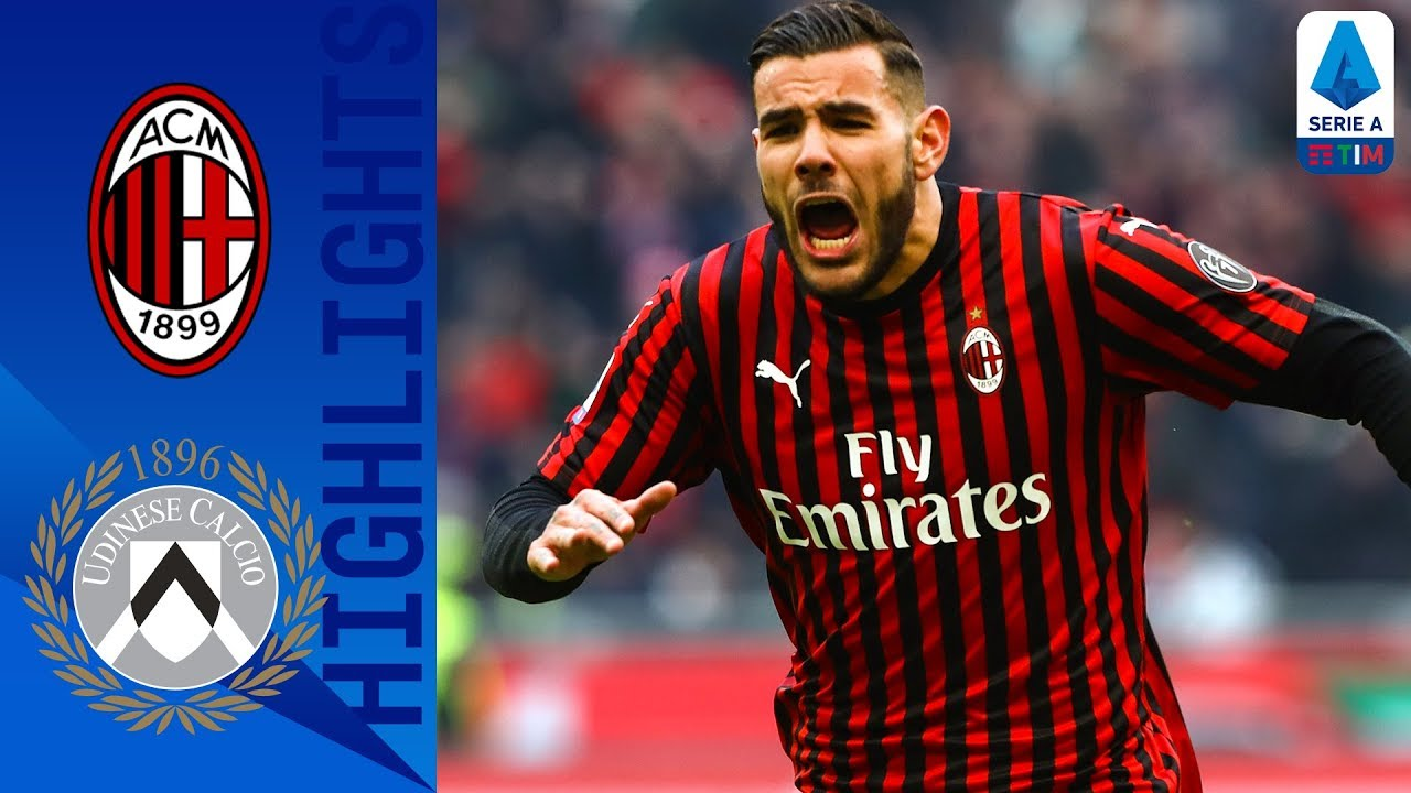 Ac Milan 3 2 Udinese Brilliant Last Minute Rebic Strike Wins Incredible Game Serie A Tim Youtube