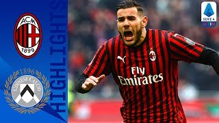 AC Milan 3 2 Udinese Brilliant Last Minute Rebic Strike Wins Incredible Game Serie A TIM