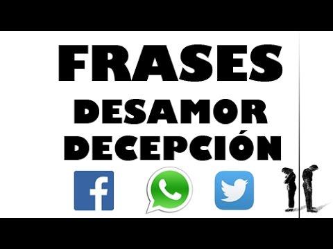 Frases De Desamor Y Decepción Para Whatsapp Facebook Twitter 28