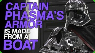 Captain Phasma's Armor Is Made From a Boat (A More Imposing Captain)