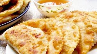 Вкусные Чебуреки простой рецепт.Тесто для чебуреков | Meat pie