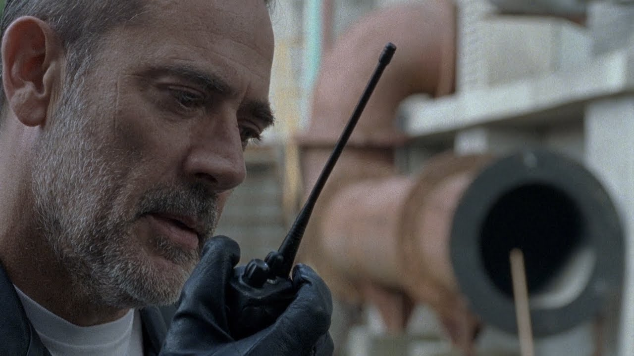 TWD S8E10 - Negan learns about Carl's passing | Ending