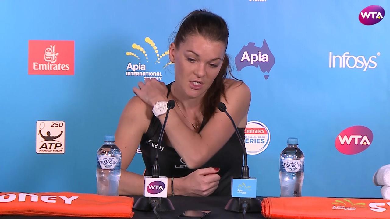 Agnieszka Radwanska 2017 Apia International Sydney Final Press Conference