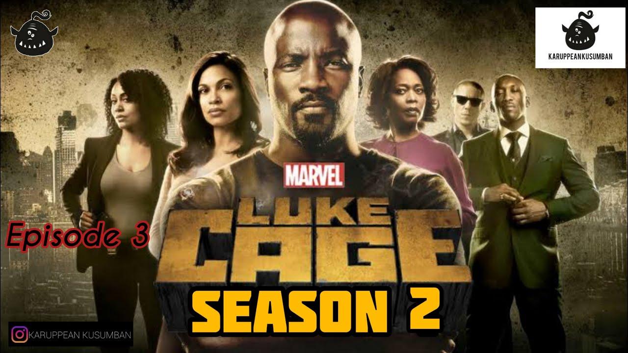 Download #lukecage #marvels LukeCage Origin S2 episode 3 in tamil marvel series KARUPPEAN KUSUMBAN தமிழ்