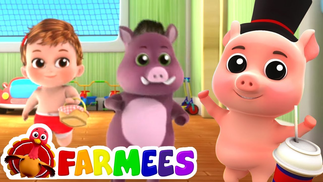 на рынок на рынок   детские песни   обучающие   Farmees Russia   развивающий мультфильм