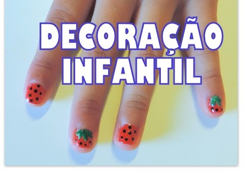 UNHAS DECORADAS INFANTIL