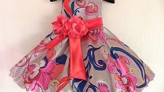 Как сшить платье для девочки? Вытворяшки(Приближается 1 июня - День Защиты Детей Шьем платье для маленькой принцессы своими руками! Вытворяшки -..., 2015-05-27T03:30:01.000Z)