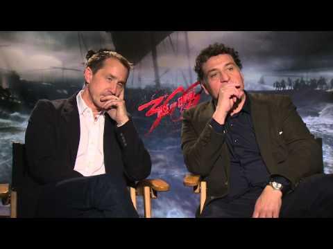 300: Rise Of An Empire: Noam Murro & Kurt Johnstad Official Movie Interview Part 1 Of 2