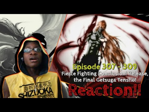 FINAL GETSUGA TENSHOU ICHIGO KUROSAKI VS. GOD FORM AIZEN SOSUKE! Bleach: Episode 307 - 309 REACTION!