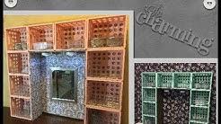 DIY Dollar Tree/Walmart Desk or Dresser Hutch/Vanity
