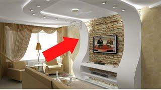 Портал под телевизор из гипсокартона (монтаж)(Подробно показываю весь процесс монтажа фигурного изделия из гипсокартона, выполняющего роль ниши под..., 2016-06-15T19:55:39.000Z)