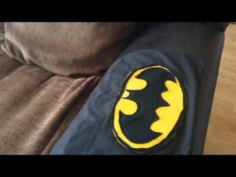 Charming BATMAN SOFA ARM COVER!!! Design Inspirations