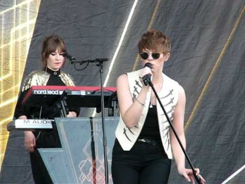 La Roux - As if by magic (Sziget 2011)