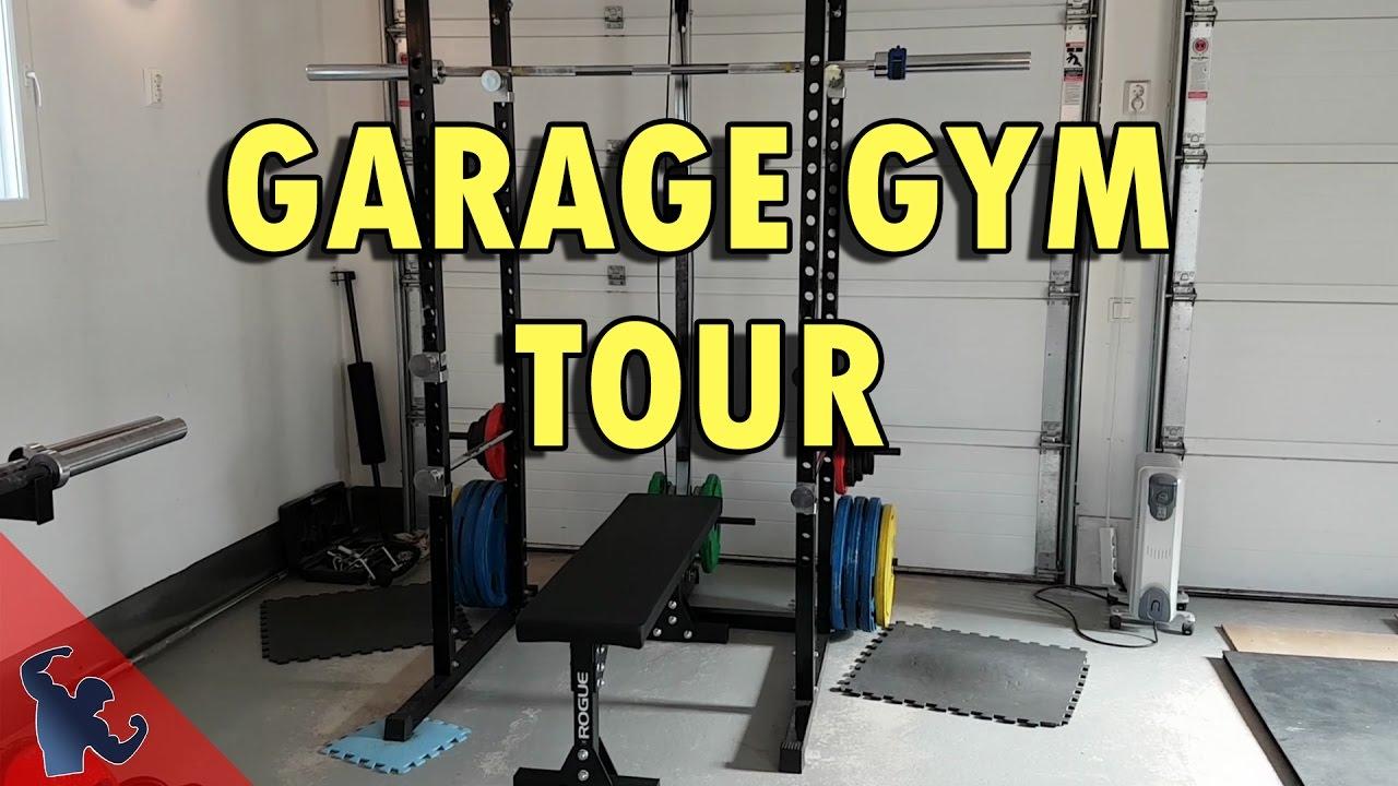 A tour of my garage gym setup youtube