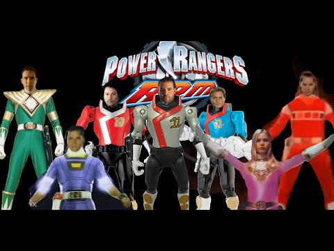 Fan-Made Power Rangers RPM Team-Up Morph