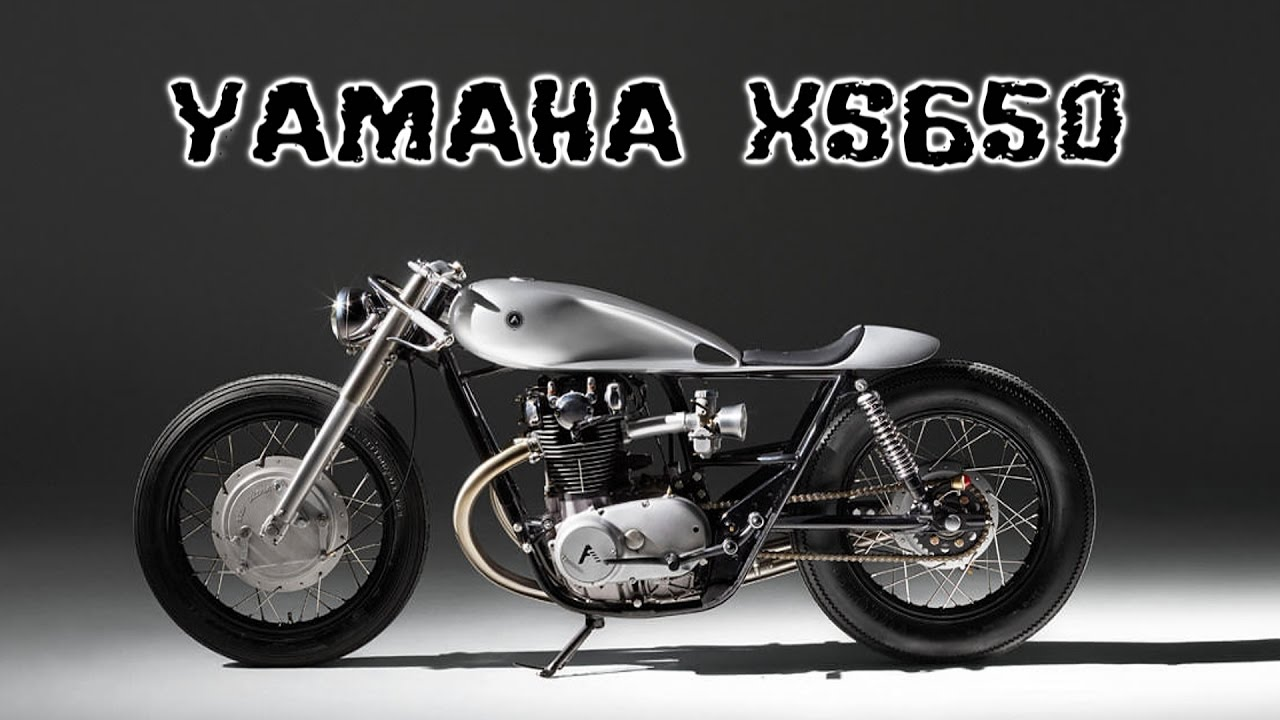 yamaha xs650 cafe racer - youtube