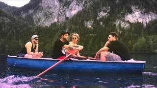 Neonschwarz im Boot auf Eskalation Tour 2016