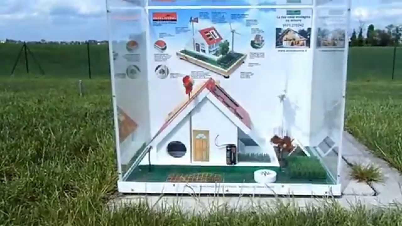 Casa Ecologica Modello Didattico  YouTube
