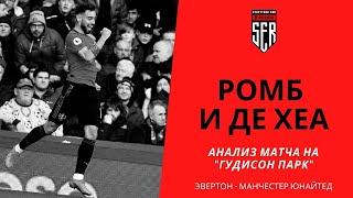 Ромб и Де Хеа Анализ матча Эвертон Манчестер Юнайтед