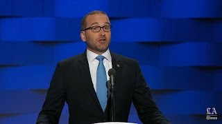 Chad Griffin, Human Rights Campaign president, speaks at the Democratic National Convention