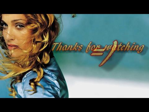 Madonna - Sky fits Heaven (lyrics on the screen)