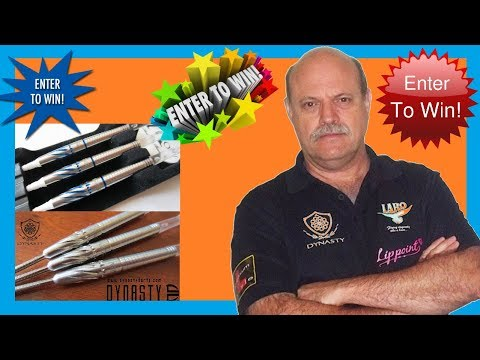 **ENDED ** The Dynasty Japan Darts Giveaway Video - Win Larry Butler Eagle III Darts