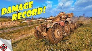 World of Tanks - Panhard EBR 75 DAMAGE RECORD! (WoT Panhard EBR 75 gameplay)