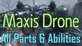 Origins - Maxis Drone in Depth - All Parts, Ablilities & More! - BO2 Apocalypse DLC