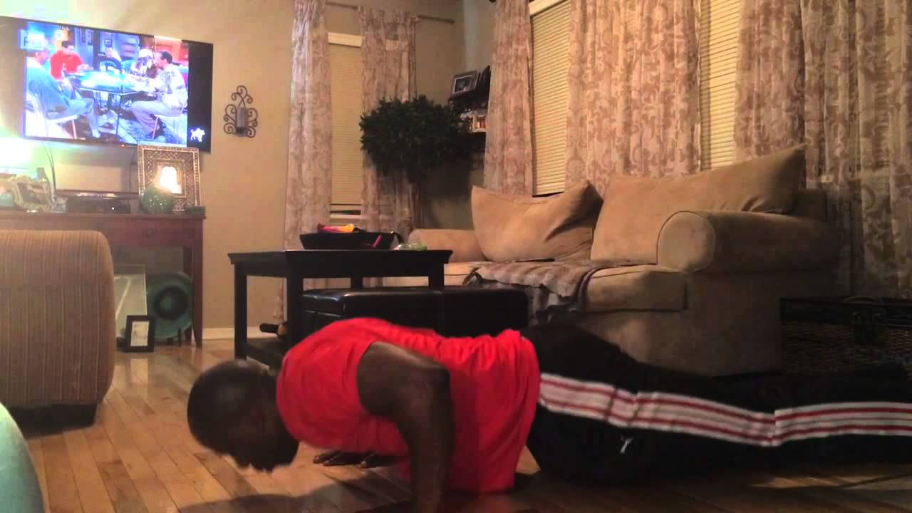 Pushup into Runners Lunge - YouTube