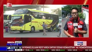 Sebanyak 60 Ribu Pemudik Tiba di Terminal Kampung Rambutan
