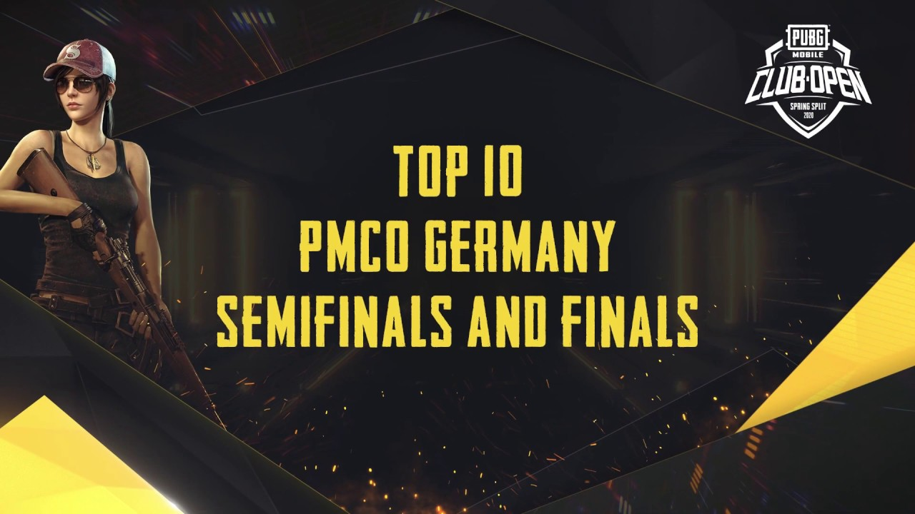 [TOP 10] PMCO Germany Semi Finals & Finals | Spring Split | PUBG MOBILE CLUB OPEN 2020