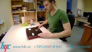 Разборка и чистка от пыли ноутбука Dell Alienware P18G