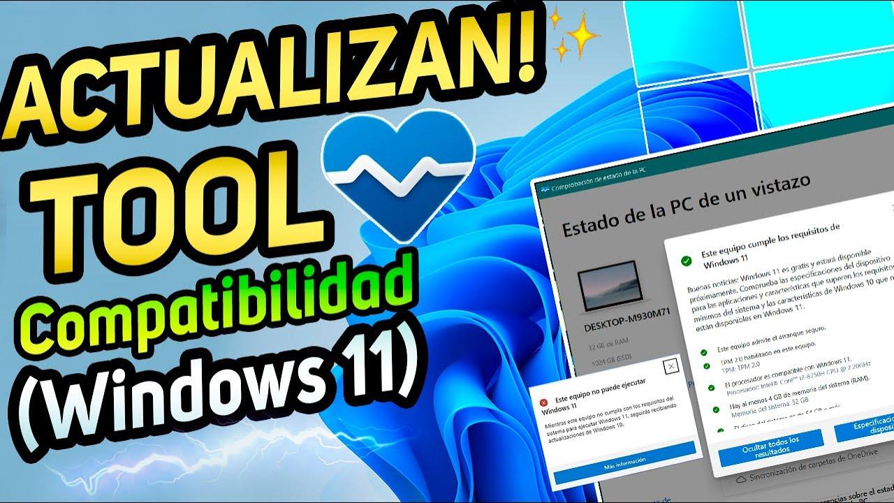LIBERAN⚡UPDATE de TOOL para Windows 11 / Más COMPATIBILIDAD con Windows 11 en PC!