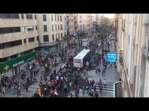 Concentración de protesta contra el Gobierno en León
