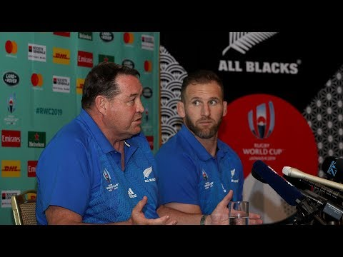 Press conference with Steve Hansen and Kieran Read