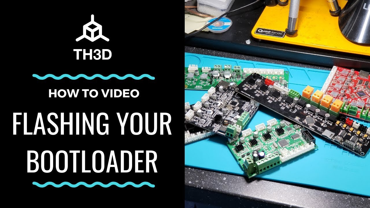 Bootloader Flashing Guide 2019 - CR-10/Ender 2/Ender 3/Ender  5/X3S/X5S/Wanhao i3 - 1284p Boards