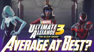 Marvel Ultimate Alliance 3: NEW Gameplay, Overall Impressions, & More!!! AVERAGE AT BEST?!?