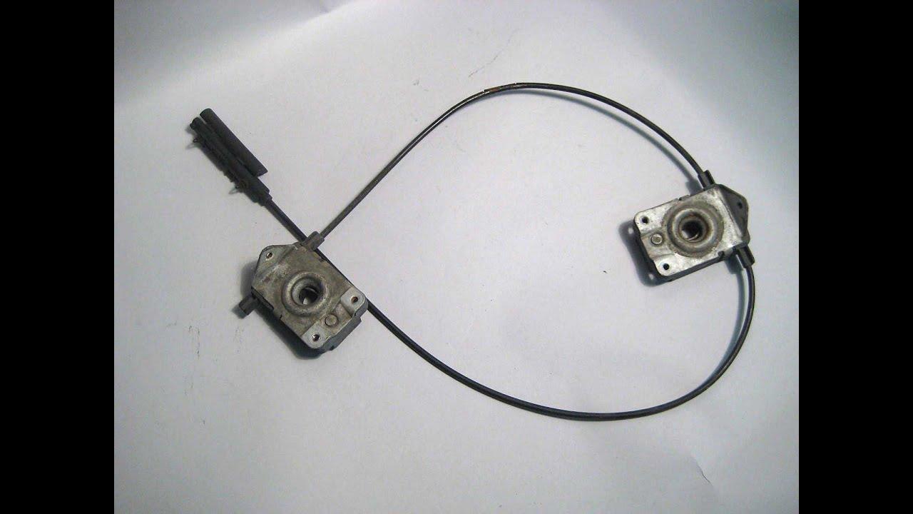 bmw e39 e38 e53 hood cable removal easy step by step 525i 528i 530i 540i 740i x5 [ 1280 x 720 Pixel ]