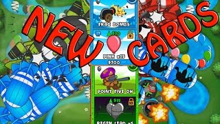 BTD Card Battles - New cards and an insane game!
