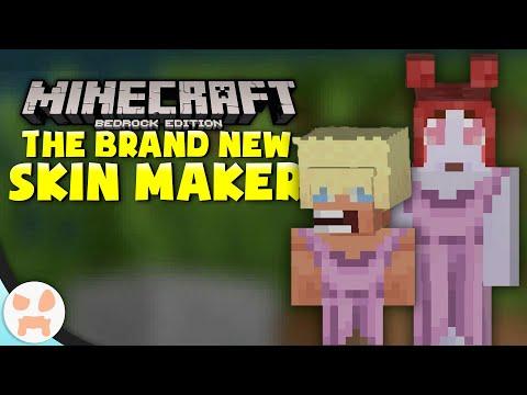 Minecraft Bedrock Has A BRAND NEW SKIN CREATOR...