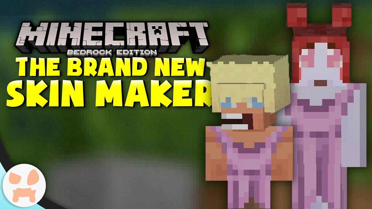 Minecraft Bedrock has a BRAND NEW SKIN CREATOR